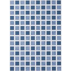 Revestimento Pastilha Azul Ref.: 69007 33x45 Cm  - Porto Ferreira