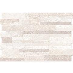 Revestimento Rústico Borda Bold Stone Branco 34x50cm - Pamesa