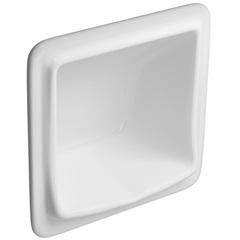 Saboneteira 15x15cm Branco Gelo a-180  - Deca