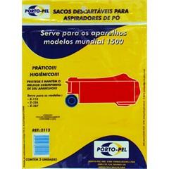Saco Descartável para Aspirador Electrolux Mundial 1500        - Porto Pel