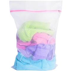 Saco para Lavar Roupas com Ziper Médio - Secalux