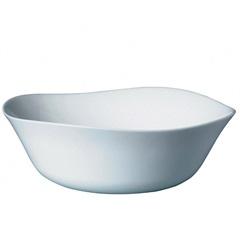 Saladeira em Vidro Parma 25cm Branca - Bormioli Rocco
