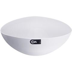 Saladeira Triangular Branca 2,5 Litros  - Coza