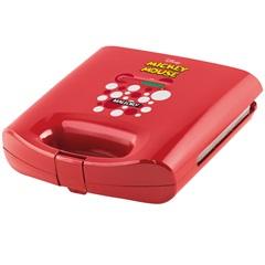 Sanduicheira Elétrica 750w 110v Mickey Mouse Vermelha - Mallory