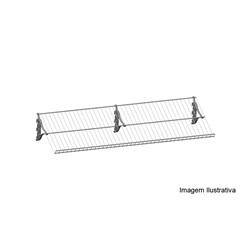 Sapateira 100cm Branco           - Metaltru