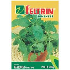 Sementes de Mangericão Ou Alfavaca Cheirosa - Feltrin