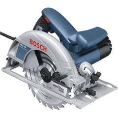 Serra Circular Manual 1400w 220v Gks 190 Professional Azul E Cinza - Bosch