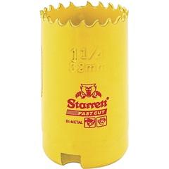 """Serra Copo Fast Cut 32mm - 1.1/4"""" Amarela - Starrett"""