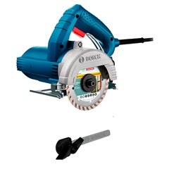 Serra Mámore 1500w 110v Gdc 150 Titan Professional Azul E Cinza - Bosch