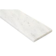 Soleira de Mármore 82x14cm Branco - Granífera