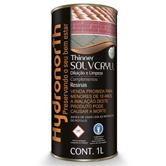 Solvente Solvcryll 1 Litro - Hydronorth