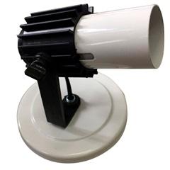 Spot Aleta Branco para 1 Lâmpada Ref. 190/1 - Franzmar