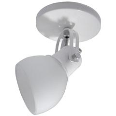 Spot Alumínio Branco E Vidro Fosco - Spot Line