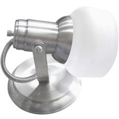 Spot com Vidro Escovado para 1 Lampada - Ref: Mf 450/1                   - Franzmar