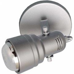 Spot de Alumínio para 1 Lâmpada Prata Base 303/1 - Spot Line