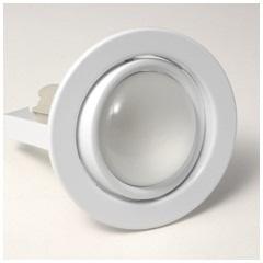 Spot de Embutir Basculante para Lâmpada R63 11,0cm Branco  - Bronzearte