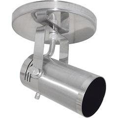 Spot de Sobrepor Na Base Ou Trilho Alumínio Lixado Ref. 201/1 - Spot Line
