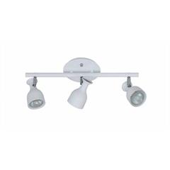 Spot Douai Aluminio para 3 Lampadas Branco - Casanova