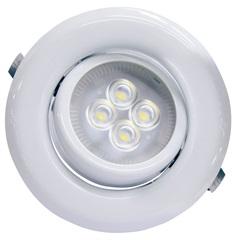 Spot Led de Embutir Redondo Sp 14 6w Autovolt 6500k Luz Branca - Taschibra