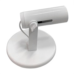 Spot Popular Todo Branco para 1 Lampada              - Franzmar