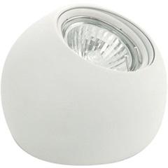 Spot Redondo Branco Poli para Lâmpadas Gu10 Ref.: 89338v 1x5w - Eglo
