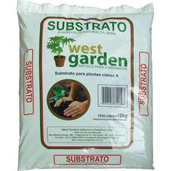 Substrato Natural 10kg               - westgarden