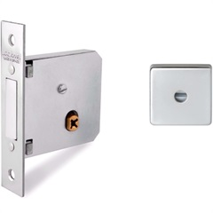 Supertrava Quadri 40mm Quadrada Inox  - Lockwell