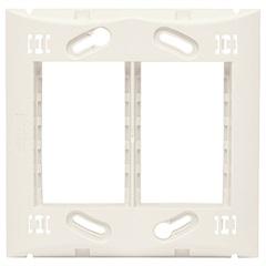 Suporte para 6 Módulos 4x4 Brava Branco - Iriel