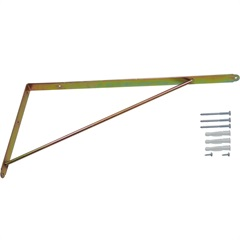 Suporte Reforçado Bicromatizado 40x50cm 1 Peça - Zamar