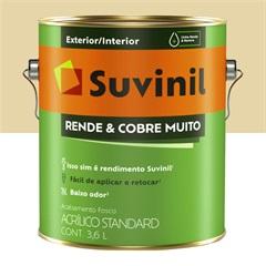 Suvinil Rende Muito Cobre Mais Marfim 3.6l  - Suvinil