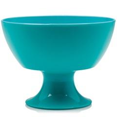 Taça de Sobremesa Luna Cristal Azul 300ml - Ou