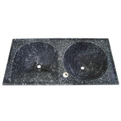 Tanque de Alvenaria Granito Sintético 120x60cm Conjunto Ônix - Corso