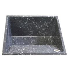 Tanque de Alvenaria Granito Sintético 55x55cm 36l Ônix - Corso