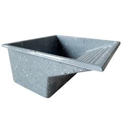 Tanque de Alvenaria Granito Sintético Cinza 65cm - Irmãos Corso