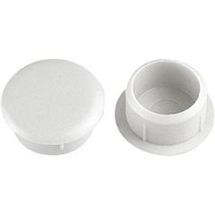 Tapa Furo 10mm Branco com 20 Peças - Bemfixa