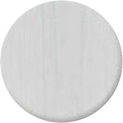Tapa Parafuso Adesivo Branco com 12 Peças