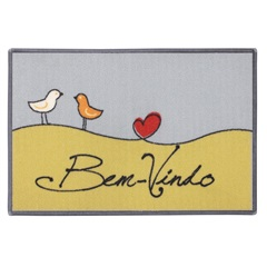 Tapete Cleankasa Love Birds 40x60 Cm  - Kapazi