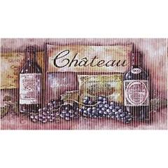 Tapete de Cozinha Confort Kitchen Château 80x50cm - Kapazi