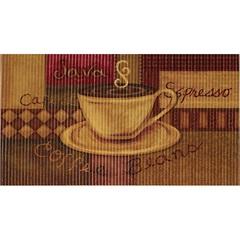 Tapete de Cozinha Confort Kitchen Coffee 80x50cm - Kapazi