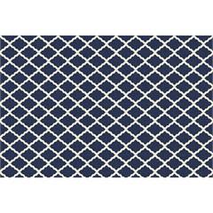 Tapete Italy Accetty Azul E Branco 150x200cm - Kapazi