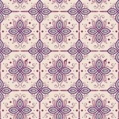 Tecido Adesivo Azulejos Indianosi - Panoah