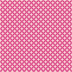 Tecido Adesivo Geométrico Rose Rosa Choque - Panoah