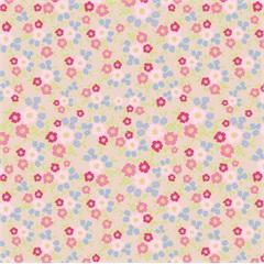 Tecido Adesivo Primavera Rose  - Panoah