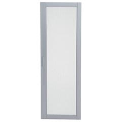 Tela Mosquiteira para Porta-Balcão  216 X 160 Cm Direita Branco - Ref: 74916910     - Sasazaki