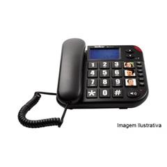 Telefone com Fio com Identificação de Chamadas E Viva Voz Tok Facil Id          - Intelbras