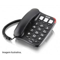 Telefone com Fio Viva Voz Tcf2300 Preto          - Elgin