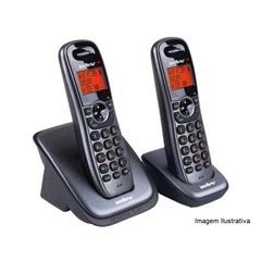 Telefone sem Fio com Identificação de Chamadas, Viva Voz E Ramal Adicional Ref: Ts6122   - Intelbras