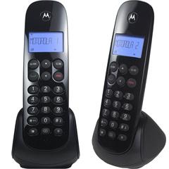Telefone sem Fio com Identificador de Chamadas E Ramal Moto700-Mrd2 Preto - Motorola