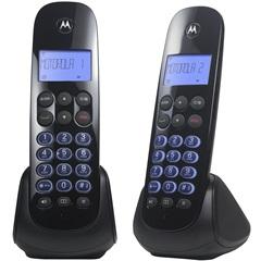 Telefone sem Fio com Ramal E Viva Voz Moto750-Mrd2 Preto - Motorola