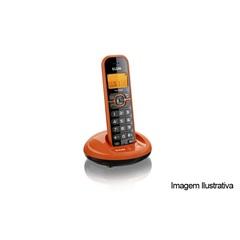 Telefone sem Fio Laranja - Elgin